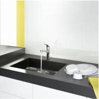 Набор смесителей Hansgrohe EcoSmart для ванны и кухни Logis/Focus 100 (71104+7140+31806+26534400) 20200012