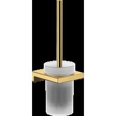 Набор для WC с держателем Hansgrohe AddStoris 41752990 золото