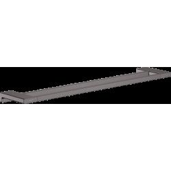 Двойной держатель для банных полотенец Hansgrohe AddStoris 41743340 черный матовый/хром