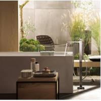 Смеситель для ванны напольный Hansgrohe Metropol Brushed Bronze 32532140