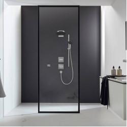 Верхний душ Hansgrohe Pulsify 260 2jet EcoSmart 24151670 черный матовый