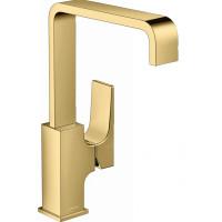 Смеситель для раковины Hansgrohe Metropol Polished Gold Optic 32511990