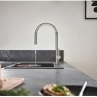 Смеситель Hansgrohe Talis M54 для кухонной мойки с выдвижным душем Stainless Steel72802800