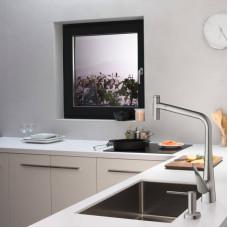 Дозатор кухонный Hansgrohe A71 для моющего средства 500 ml Matt Black 40468670