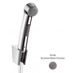 Гигиенический ручной душ Hansgrohe Brushed Black Chrome 96907340