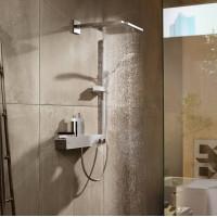 Верхний душ Hansgrohe Raindance E 300 1jet с душевым кронштейном Polished Gold Optic26238990