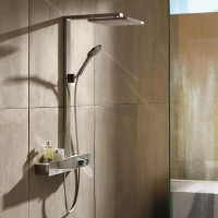 Душевая система с термостатом Hansgrohe Raindance E Showerpipe 300 1jet 27363000