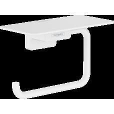 Держатель туалетной бумаги Hansgrohe AddStoris 41772700 белый матовый