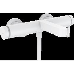 Смеситель Hansgrohe Finoris для ванны, белый матовый 76420700
