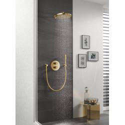 Верхний душ с душевым кронштейном GROHE Rainshower Cosmopolitan 310 26066GL0