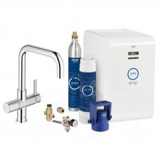 Смеситель для кухни с функцией очистки воды Grohe GROHE Blue Professional 31324001