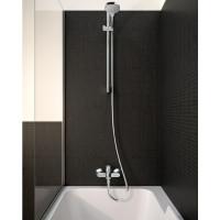Набор смесителей Hansgrohe EcoSmart для ванны Logis 100/Crometta Reno (71104+7140+27289000) 20200002