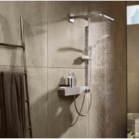Верхний душ Hansgrohe Raindance E 300 1jet с душевым кронштейном Brushed Bronze 26238140