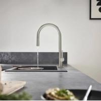 Смеситель Hansgrohe Talis M54 для кухонной мойки с выдвижным душем, под сталь 72800800