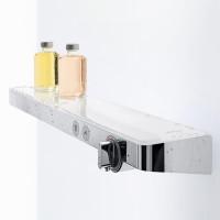 Термостат для душа Hansgrohe ShowerTablet Select 700, белый/хром 13184400