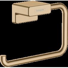 Держатель туалетной бумаги Hansgrohe AddStoris 41771140 бронза матовый