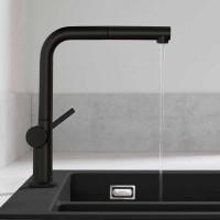 Смеситель Hansgrohe Talis M54 для кухонной мойки с выдвижным душем Black Matt72809670