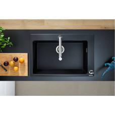 Кухонная мойка Hansgrohe S510-F660 77х51 Graphite Black 43313170