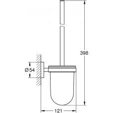 Туалетный ёршик Grohe Essentials 40374GN1