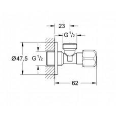 Запорный вентиль Grohe 22016000