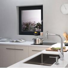 Дозатор кухонный Hansgrohe A51 для моющего средства 500 ml хром 40448000