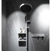 Термостат Hansgrohe RainSelect скрытого монтажа на 2 потребителя Matt White 15380700
