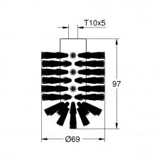 Щетка для туалетного ершика Grohe Essentials 40791KS1