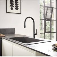 Смеситель Hansgrohe Talis M54 для кухонной мойки с выдвижным душем Matt Black72802670