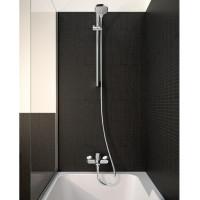 Набор смесителей Hansgrohe Eco для ванны Logis 100 (71104+7140+26651400) 20200001