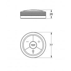 Электронная панель управления для ванны и душа Grohe F-digital 36309000