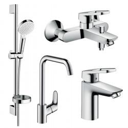 Набор смесителей для ванны 4 в 1 Hansgrohe 1172019
