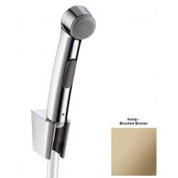 Гигиенический ручной душ Hansgrohe Brushed Bronze 96907140