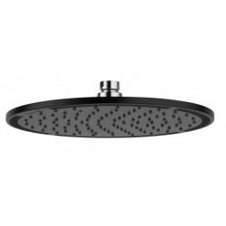 Верхний душ Kludi A-QA 6432587-00 черный матовый/хром