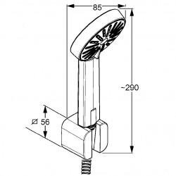 Душевой гарнитур для ванны Kludi A-QA 6565005-00
