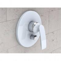Внешняя часть смесителя для ванны и душа Kludi BALANCE WHITE 526509175