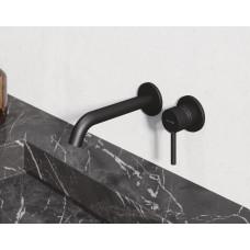 Смеситель для раковины Kludi BOZZ 382453976 черный матовый