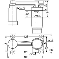 Внутренняя часть смесителя для раковины KLUDI, 38242