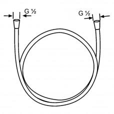 Душевой шланг KLUDI Suparaflex White 6107291-00