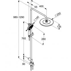 Душевая система Kludi FRESHLINE 6709005-00
