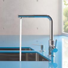 Кухонный смеситель Kludi L-INE S с выдвижным изливом 408510575