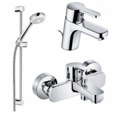 Набор смесителей для ванны и душа Kludi LOGO NEO 3 в 1, 376850575