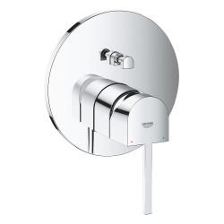 Смеситель с переключателем на 2 положения для ванны Grohe Plus, 24060003