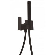 Комплект гигиенического душа Tres Cuadro Colors, Black Matte, 00612301NM